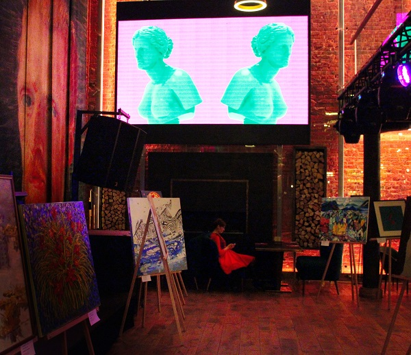 "Выставка ""Краски Ван Гога"" Рестобар «I'Van Gogh»  на Большой Лубянке"