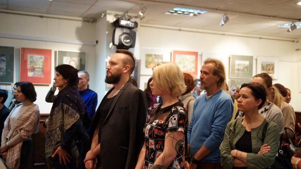 Выставка Константина Ганди Полякова фото 2 Арт-Релиз.РФ
