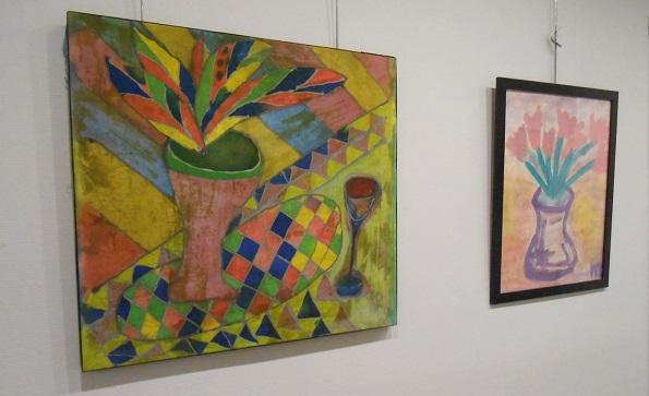 Выставка Марии Тумановой в Галерее Лега. фото 2