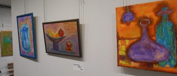 Выставка Марии Тумановой в Галерее Лега. фото 3