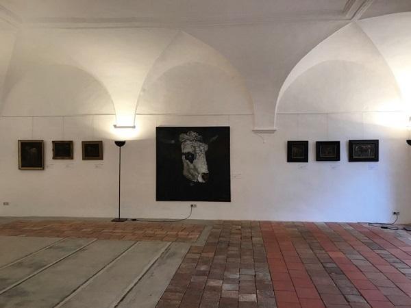 Выставка Пита Килкенни в замке города Титмонинг (Бавария) лето 2017 г.