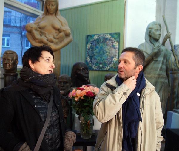 Выставка Юры в Творческой Мастерской Рябичевых Арт-Релиз.РФ