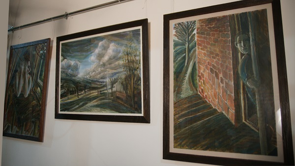 Выставка Юры в Творческой Мастерской Рябичевых картины Арт-Релиз.РФ