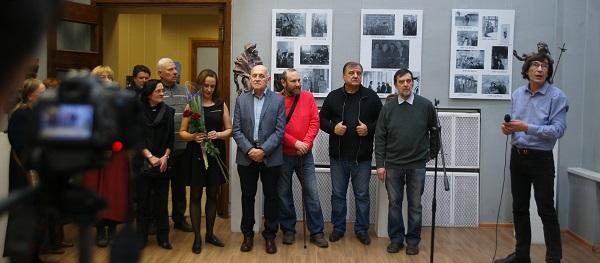 Выставка выпускников Строгановки МОСХ  открытие и Люся Чарская АРТ-Релиз.РФ