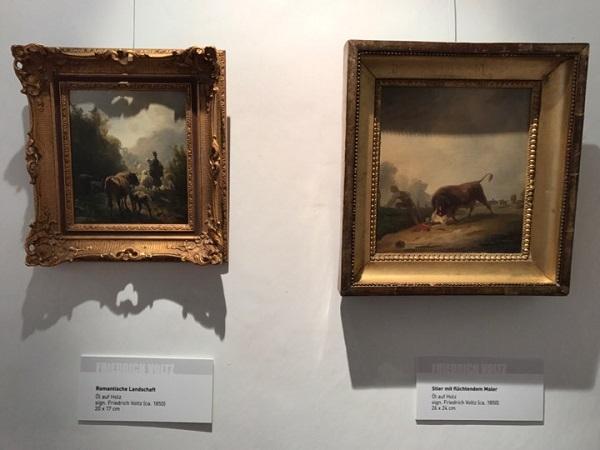 Картины немецкого  художника-анималиста Фридриха Вольца (1817-1886)