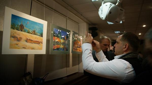 Константин Ганди Поляков Выставка Арт-Релиз.РФ