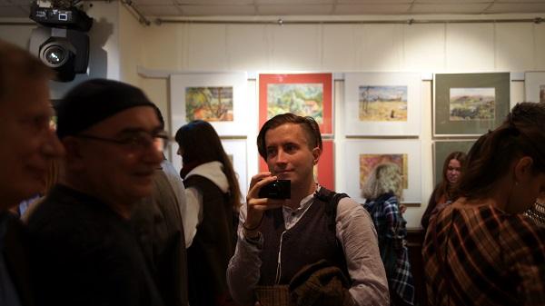 Константин Ганди Поляков выставка в Посольтве Арт-Релиз.РФ