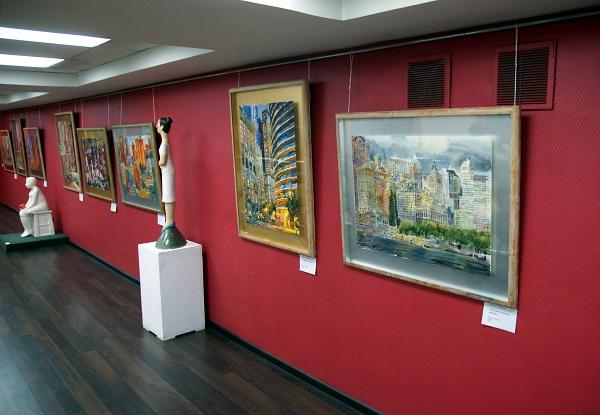 МОСХ выставка Людмилы Чарской (фото 2). АРТ-РЕЛИЗ.РФ