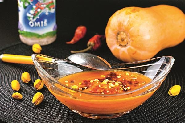 """Суп-пюре из тыквы.  Рецепт и фото Марины Проняковой  Книга """"Просто о вкусном, или как получать удовольствие на кухне"""""""