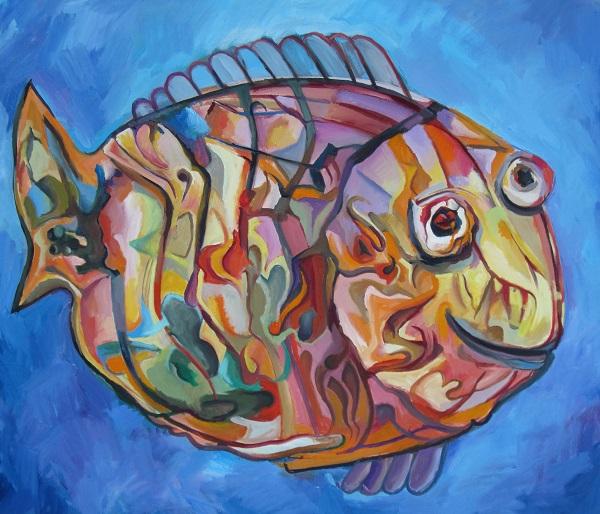 """Алексей Федотов """"Цвета рыб не уступают в яркости и блеске окраске трапических бабочек и птиц"""""""
