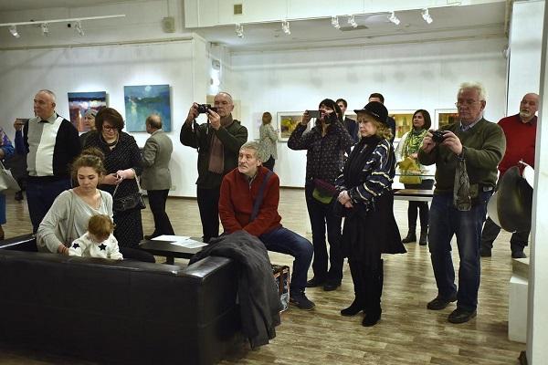 Выставка Aster Art Gallery Открытие Марина Щелокова Арт-Релиз.РФ