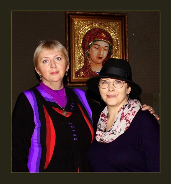 Елена Краснощекова и Александра Мишель участники Bona Mente в Come-In