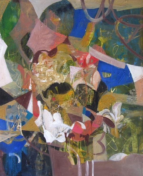 """Лариса Белима Композиция выставки  """"Импровизация на тему..."""""""
