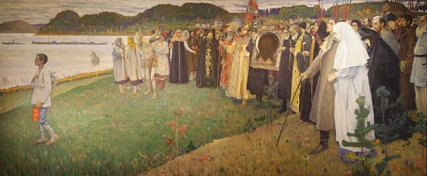 """Михаил Нестеров """"На Руси. Душа народа"""" 1914 - 1916 гг.."""