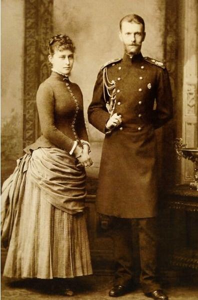 Великий Князь Сергей Александрович Романов  и Великая Княгиня Елизавета Федоровна
