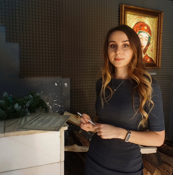 Варвара Воронина врач-онколог сокуратор выставки Bona Mente