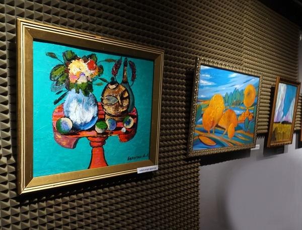 Картины участников  Bona Mente художники  Александр Белугин Александра Загряжская Алексей Горбушин