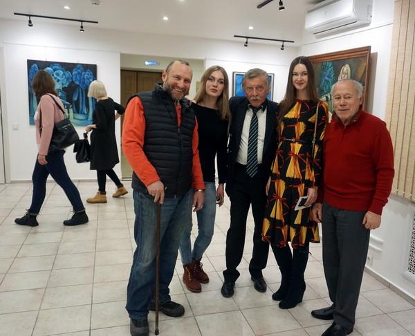 Александр Рябичев с дочками, Александр Мичри, Александр Рожин АРТ-Релиз.РФ