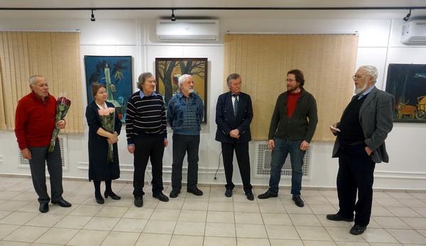 Выставка Анатолия Кулинича Открытие АРТ-Релиз.РФ