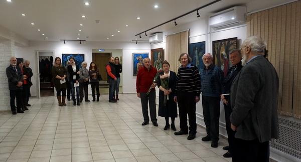 Выставка Анатолия Кулинича Открытие в Колорите АРТ-Релиз.РФ