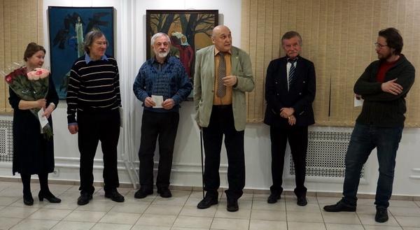 Выставка Анатолия Кулинича в Колорите АРТ-Релиз.РФ