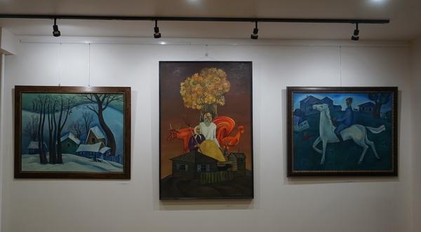 Выставка Анатолия Кулинича в Колорите на Малой Дмитровке АРТ-Релиз.РФ