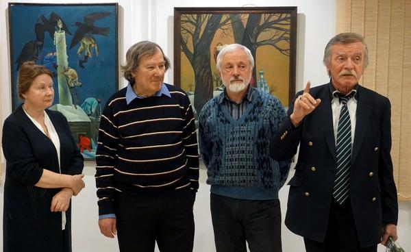 Выставка Анатолия Кулинича. Выступает Александр Рожин АРТ-Релиз.РФ