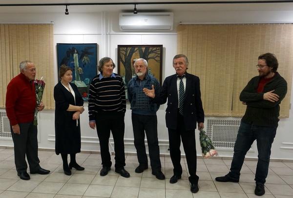 Выставка Анатолия Кулинича. Выступает искусствовед Александр Рожин АРТ-Релиз.РФ.