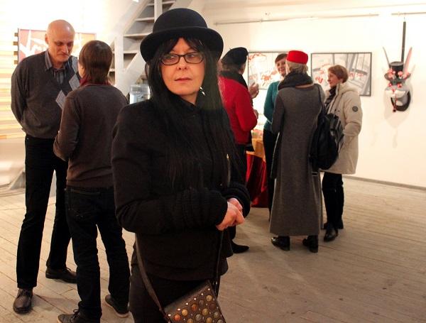 Эка Валева участница группы художников-дизайнеров PINKY-WINKY