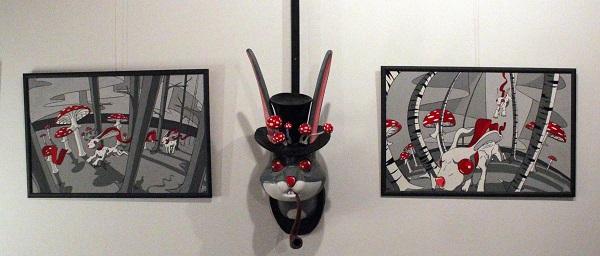 Работы Саввы Дмитриева Выставка Pinky-Winky в Творческой Мастерской Рябичевых