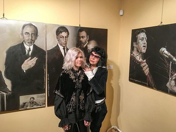 Татьяна Кузьмина-Чугунова  с дочерью Анастасией