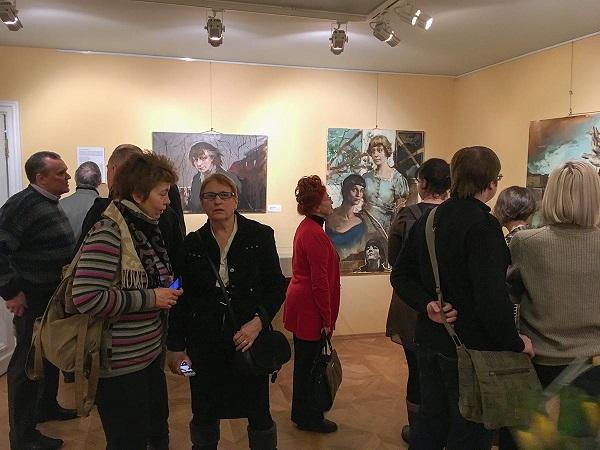 Выставка Татьяны Кузьминой-Чугуновой (фото 3) АРт-Релиз.РФ