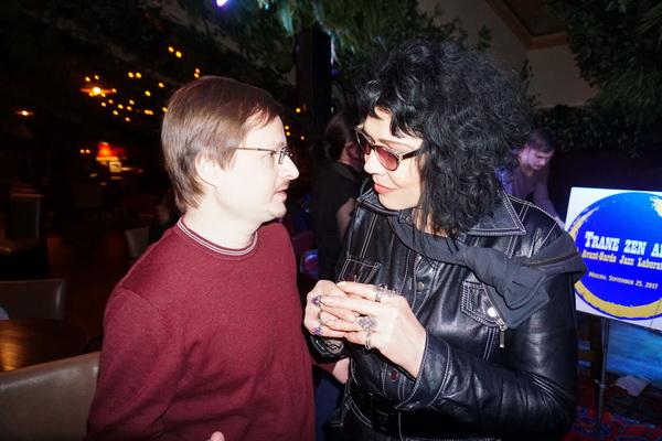 Фотограф Павел Товкач  и художник Татьяна Кузьмина-Чугунова
