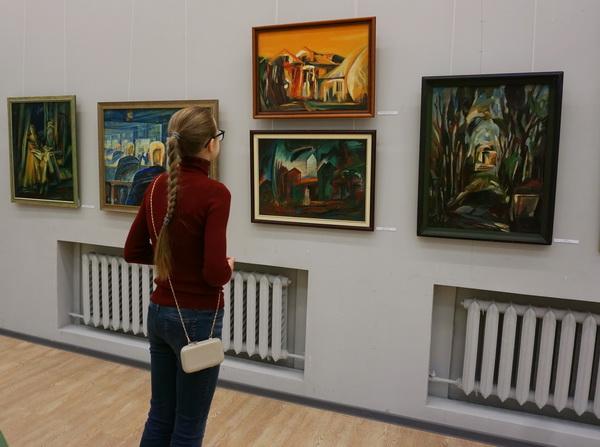 Выставка Евгеия Окиншевича зрительАРТ-РЕЛИЗ.РФ