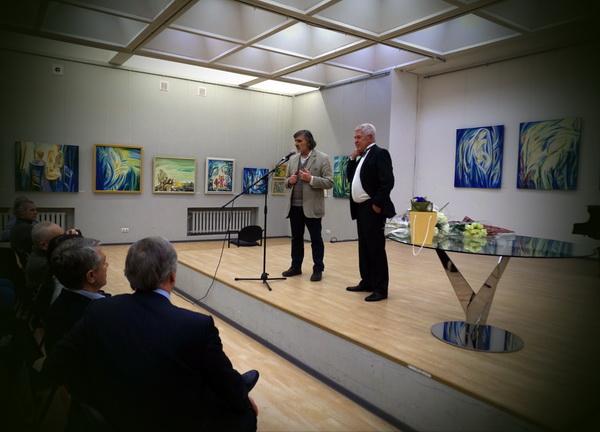 Выставка Евгения Окиншевича в ЦДА, ОткрытиеАРТ-РЕЛИЗ.РФ