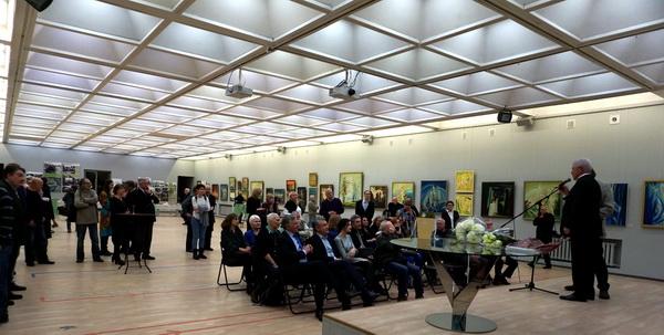 Выставка Евгения Окиншевича в ЦДА, торжественное открытиеАРТ-РЕЛИЗ.РФ