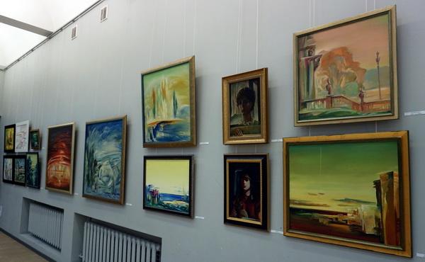 Выставка Евгения Окиншевича. ЦДААРТ-РЕЛИЗ.РФ