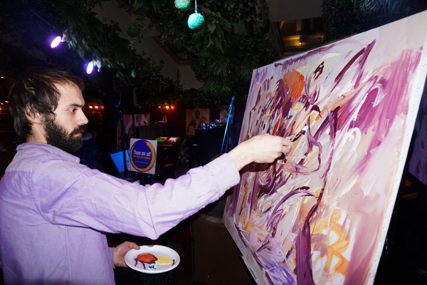 Программа Михаила Сапожникова Константин пишет картину Арт-Релиз.РФ