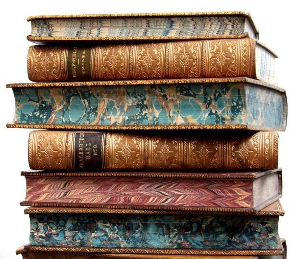 мраморирование книг