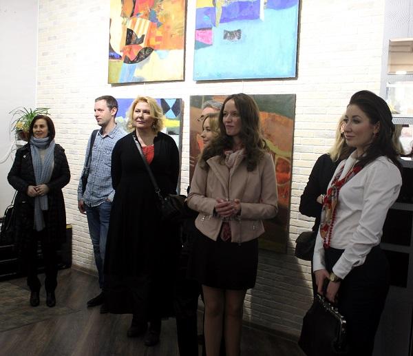 Выставка Ларисы Белимы (фото 2) Арт-Релиз.РФ
