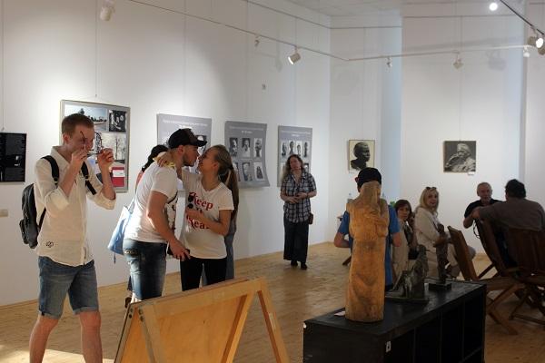 Выставка Рябичевых (фото 10) АРТ-Релиз.РФ