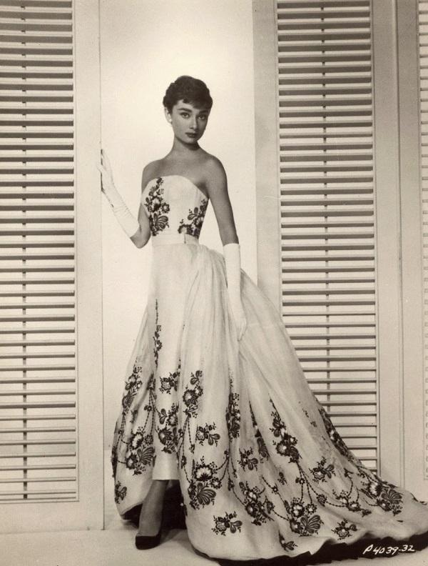 Одри Хепберн фотосессия для фильма «Сабрина». октябрь 1953 г. Фото: Бад Фракер