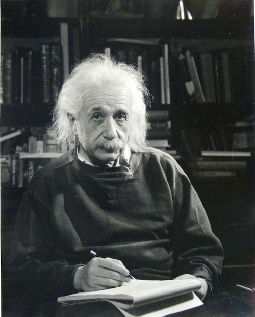 Филипп Халсман Альберт Эйнштейн
