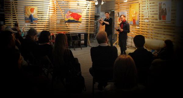 Евгений Глобенко  и Глеб Ильин исполняют авторскую  музыкально-поэтическую композицию