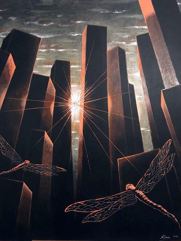 Александр Аросев-Каширин  Выставка «Street stories»  14 июня – 01 июля 2018 года  Центральный дом художника, Крымский вал, 10  3 этаж, 17 зал
