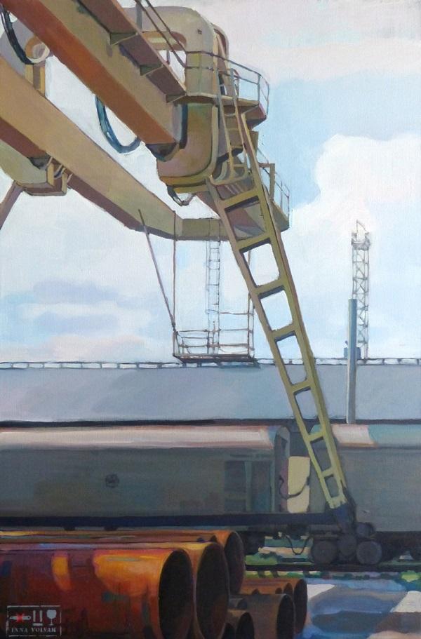 Инна Вольвак Выставка «Street stories»  14 июня – 01 июля 2018 года  Центральный дом художника, Крымский вал, 10  3 этаж, 17 зал