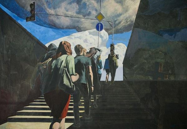 Николай Пак  Выставка «Street stories»  14 июня – 01 июля 2018 года  Центральный дом художника, Крымский вал, 10  3 этаж, 17 зал