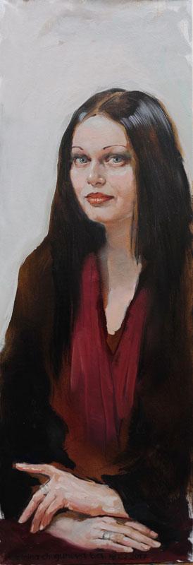 Татьяна Кузьмина-Чугунова Портрет Александры Загряжской