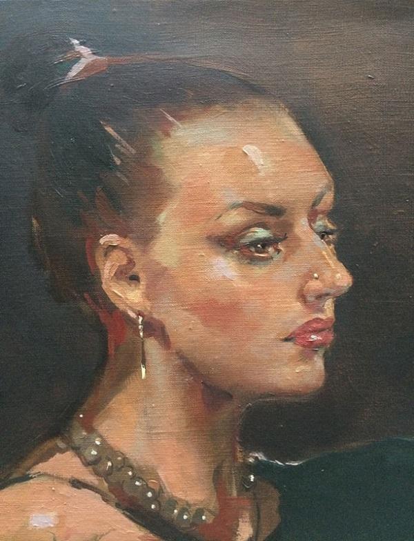 Татьяна Кузьмина-Чугунова Портрет Евгении Кове-Петровой