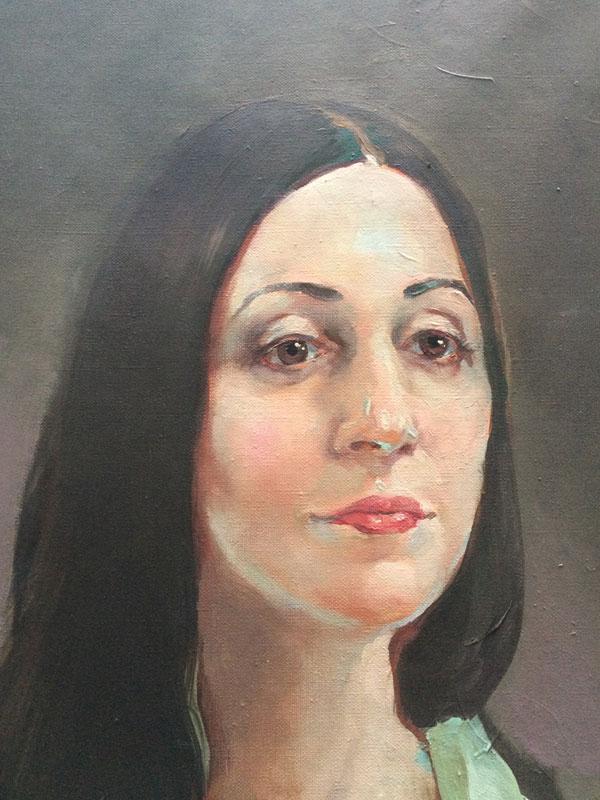 Портрет оперной певицы (сопрано) Наиры Асатрян (фрагмент)